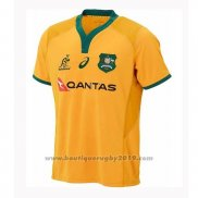Maillot Australie Rugby 2018-2019 Domicile