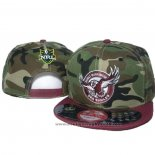 NRL Snapback Casquette Manly Warringah Sea Eagles Camouflage