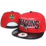 NRL Snapback Casquette Dragons Rouge
