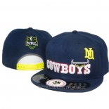 NRL Snapback Casquette North Queensland Cowboys Fonce Bleu