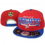 NRL Snapback Casquette Newcastle Knights Rouge Bleu