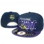NRL Snapback Casquette Melbourne Storm Fonce Fuchsia