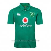 WH Maillot Polo Irlande Rugby 2019 Vert