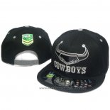 NRL Snapback Casquette North Queensland Cowboys Noir