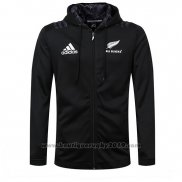 Nouvelle-Zelande All Blacks Rugby 2018-2019 Veste a Capuche