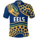 Maillot Polo Parramatta Eels Rugby 2021 Indigene