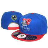 NRL Snapback Casquette Newcastle Knights Bleu Rouge
