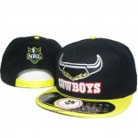 NRL Snapback Casquette North Queensland Cowboys Noir Jaune