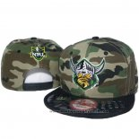 NRL Snapback Casquette Canberra Raiders Camouflage