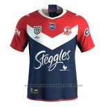 Maillot Sydney Roosters 9s Rugby 2020 Rouge Bleu