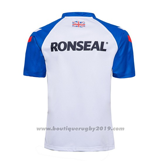 Maillot Great British Lions Rugby 2020 Blanc Bleu