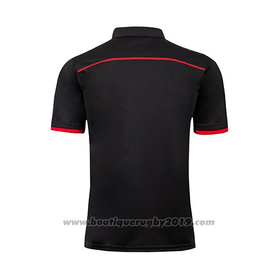Maillot Polo Crusaders Rugby 2019 Noir